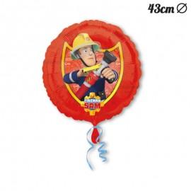 Ballon en Mylar Sam le Pompier 43 cm