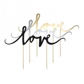 Topper Pour Tourtes Love