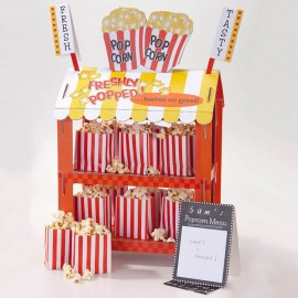 Support pour Pop-Corn et Hot-Dog