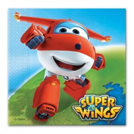 20 Serviettes Super Wings 33 cm
