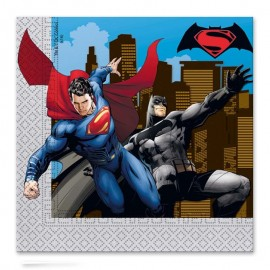 20 Serviettes SuperMan 33 cm