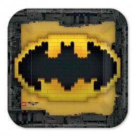 8 Assiettes Lego Batman 23 cm