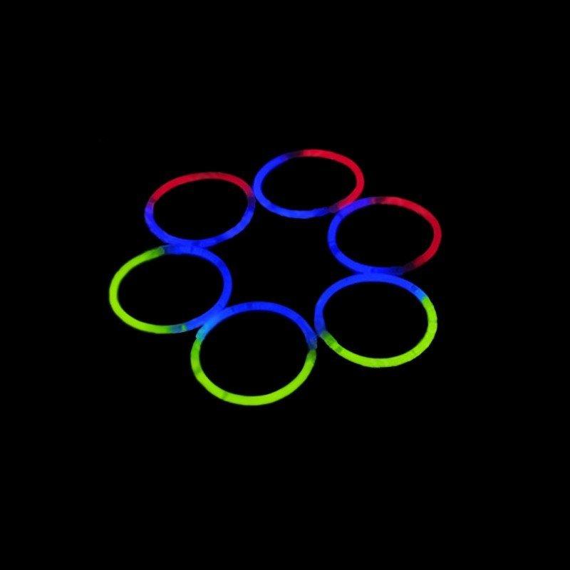 Bracelets Lumineux Bicolores - Soirée, Fête - Pas Chers 7486461ad72e