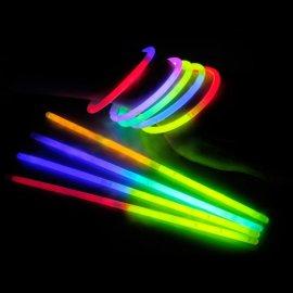 Bracelets Fluorescents Bicolores (100 u.)