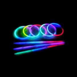 Bracelets Fluorescents Tricolores (100 u.)