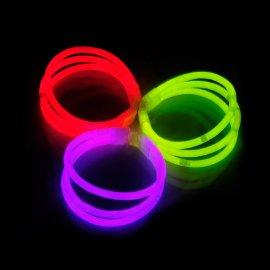 8e5f0de8d7d95e Bracelets Fluorescents Triples (33 u.) Mélange de couleurs