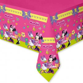 Nappe en Plastique Minnie Rose 120 x 180 cm