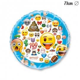 Ballon Géant Avec Emojis 71 cm