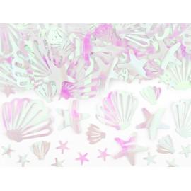 Confetis de Narval Irisés 23 gr