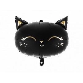 Globo Gato de Foil 48 x 36 cm