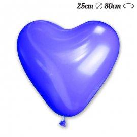 Ballons en Coeur Latex 25cm