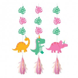 3 Suspensions Dino Party