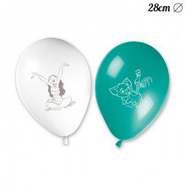 8 Ballons Vaiana 28 cm