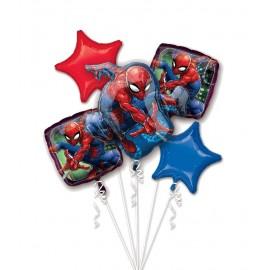 Bouquet de Ballons de Spider Man