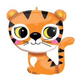 Ballon Géant en Forme de Tigre