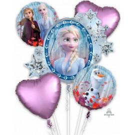 Bouquet de Ballons de La Reine des Neiges 2