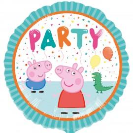 Ballon en Aluminium Peppa Pig Party