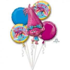 Bouquet de Ballons de Trolls