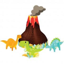 4 Centro de Mesa Dinosaurio 3D