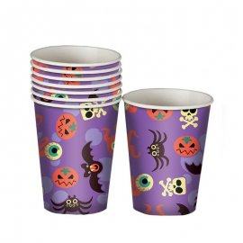 8 Verres Halloween Amusants