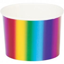 6 caissettes Rainbow Foil