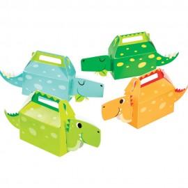 4 Cajitas Dino 3D