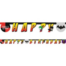 Guirlande Batman et Joker