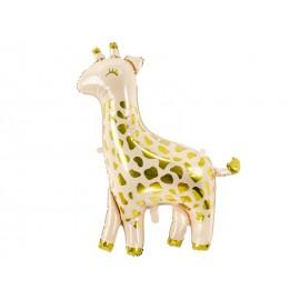 Ballon Girafe en Aluminium 80 x 102 cm