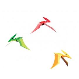 3 Décorations Pendentifs Décoratifs Dinosaures