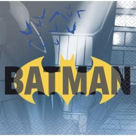 16 Servilletas Batman 25 cm