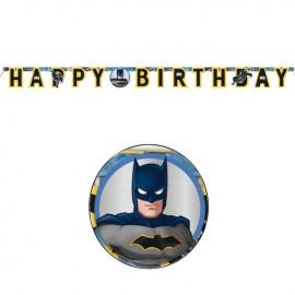 Guirnalda Batman Happy Birthday