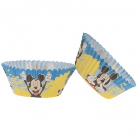25 Caissettes Mickey Mouse pour Cupcakes