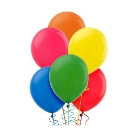 Ballons de Baudruche Ronds Latex 27cm