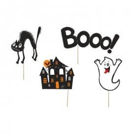 4 Accessoires Halloween pour Photobooth