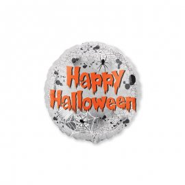 Ballon avec Araignée Happy Halloween