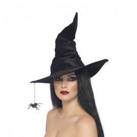 Chapeau Noir Avec Araignées