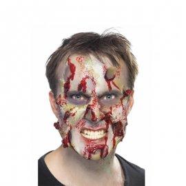Maquillage de peau décomposée