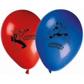 6 Ballons SpiderMan en Latex
