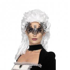 Masque Toile D'Araignée Métallique