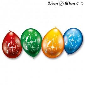 Ballons Arrondis Numéro 4 M02 25 cm