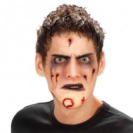 Menton Zombie avec de la Colle