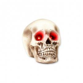 Crâne avec Yeux Lumineux