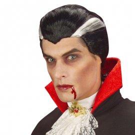 Perruque Noire de Vampire
