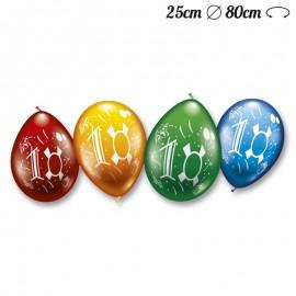 Ballons Arrondis Numéro 10 M02 25 cm
