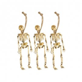 3 Pendentifs Squelettes 15cm