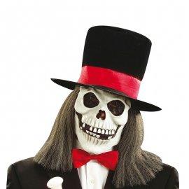 Masque Avec Chapeau Et Cheveux