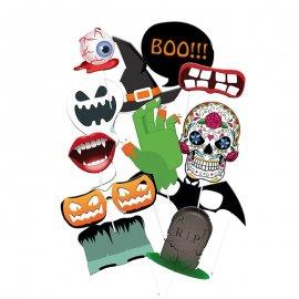 12 Accessoires d'Halloween pour Photobooth