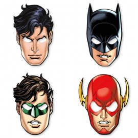 8 Masques Justice League