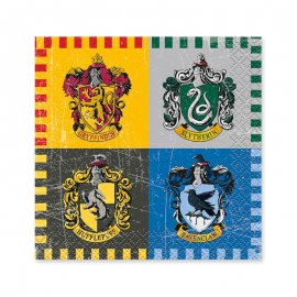 16 Serviettes Harry Potter 25 cm