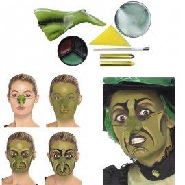 Kit de peinture sorcière avec nez